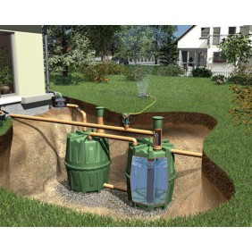 Graf Garantia Regenwassertank Erdtank Herkules Komplettpaket Garten