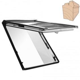 Roto blueLine Dachfenster Designo R8 Holz Klapp-Schwingfenster