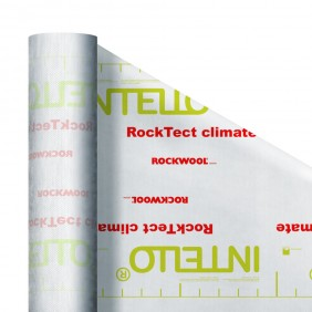 Rockwool Dampfbremse feuchtevariabel RockTect INTELLO climate
