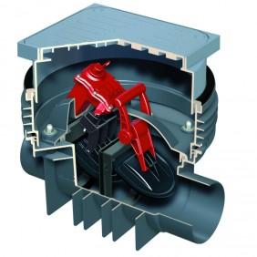 ACO Quatrix-K - Fäkalienrückstauautomat mit Schachtsystem