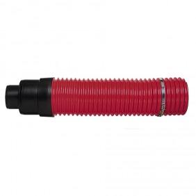 Klöber Venduct Flexibler Anschluss DN 125 rot