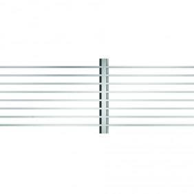 ACO Self® Längsstabrost 3 x 15mm Edelstahl für Profiline Holzterrassenrinne