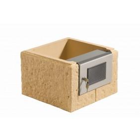 WESERWABEN Premium-Line Landhaus Pfeilerelement für Sprechanlage (Vorrichtung)
