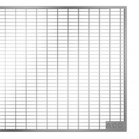 ACO Therm® Lichtschacht Abdeckrost befahrbar 80 x 40 cm - Maschenrost 30/10 mm