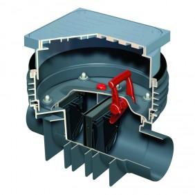 ACO Triplex-K-2 - Reinigungsrohr mit Schachtsystem