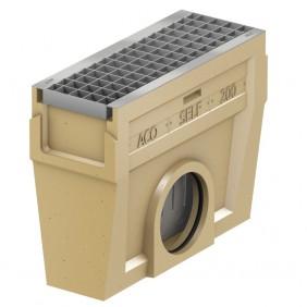 ACO Self® Einlaufkasten mit verzinktem Maschenrost - Länge 50 cn