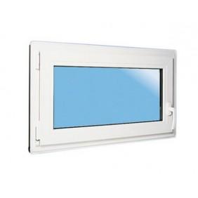ACO Nebenraum-Fenster mit Dreh-/ und Kippflügel 80x50 cm inkl. Griffoliven