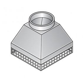 Abströmkopf (Muffenrohr)