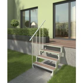 DOLLE Gardentop Stufe zum Einlegen von Holz oder WPC Dielen 100