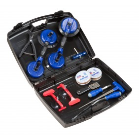 Werkzeugkoffer für die Scheibenreparatur