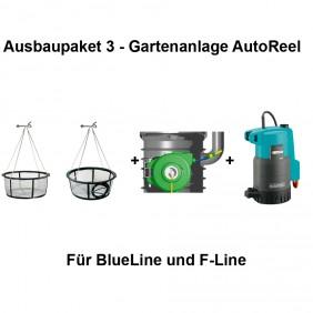 REWATEC Ausbaupaket 3 - Gartenanlage AutoReel