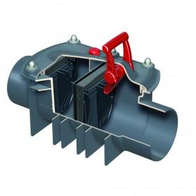 ACO Triplex-K-2 - für Reinigungsrohr freiliegende Rohrleitung