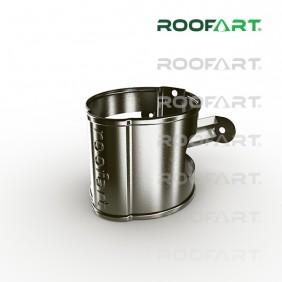 Roofart Fallrohrschelle/ -halter, Zink