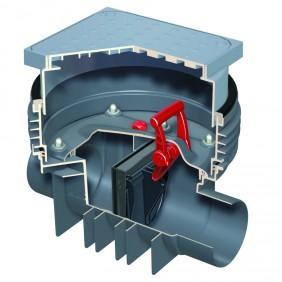 ACO Triplex-K-1 - Reinigungsrohr mit Schachtsystem