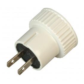 Kopp Reise-Stecker-Adapter für Nordamerika, 2-polig weiß