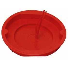 Kopp Signaldeckel für Schalterdose Ø 60mm, rot