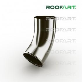 Roofart Fallrohrendstück 60°, Zink