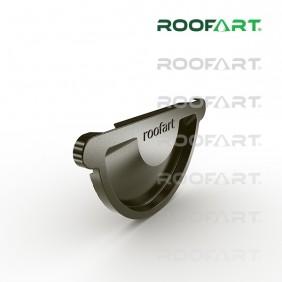 Roofart Steckboden mit Dichtlippe, Zink
