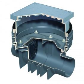 ACO Triplex-K-0 - Reinigungsrohr mit Schachtsystem