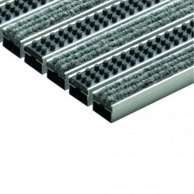 ACO Self® Schuhabstreifer-System Rips Cassettenbürsten Hellgrau