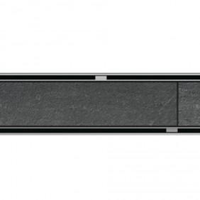 ACO ShowerDrain C-line Design Rost Tile