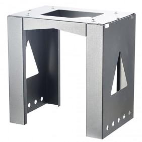 ALLUX Montagefuß 8002 universal - Verzinkter Stahl