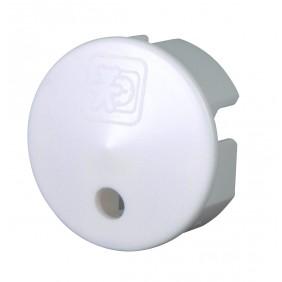 Kopp Sicherheitsabdeckung für Steckdose, weiß