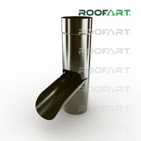 Roofart Regenwasserklappe, Zink