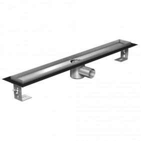 ACO ShowerDrain E-line Duschrinne h=105-160 mm - ohne Aufkantung