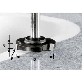 Festool Planfräser HW Schaft 12 mm HW D 52/R1ss S12
