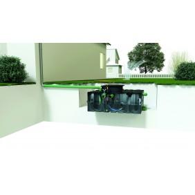 Garten Plus Flach-tank liegend