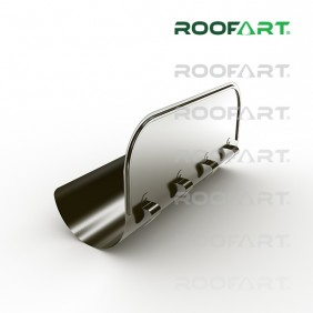 Roofart Prallblech 180°, Zink