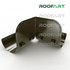 Roofart Prallblech 90°, Zink