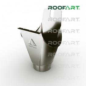 Roofart Einhangstutzen, Zink