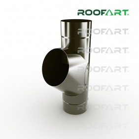 Roofart Fallrohrabzweig, Ø 87 mm, versch. Farben