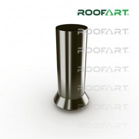 Roofart Dränverbinder/ Standrohr zur Reinigung, Zink