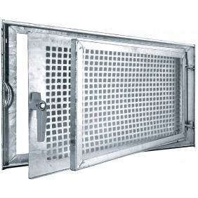 MEA Stahlkellerfenster MEALIT verzinkt Einflügelig