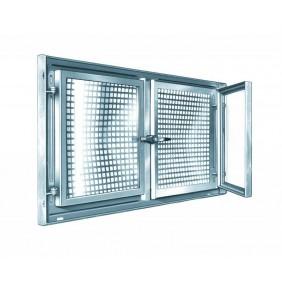 MEA Stahlkellerfenster MEALIT verzinkt Zweiflügelig