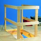 DOLLE Lukenschutzgeländer aus Holz