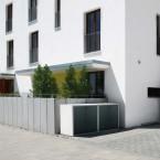Paul Wolff Mülltonnenbox SILENT 122 Stein-Außenfläche: Sichtbeton Stahl: Anthrazitrau