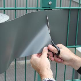 Sichtschutzstreifen für Doppelstabmatten