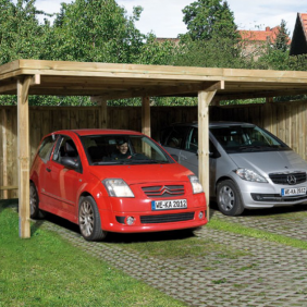 weka carport die clevere alternative zur garage. Black Bedroom Furniture Sets. Home Design Ideas
