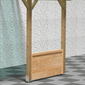 Terrassendach Zubehör
