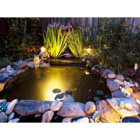 Garten- und Teichbeleuchtung