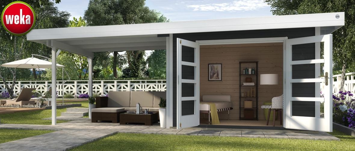 weka holzbau onlineshop f r garten wellness. Black Bedroom Furniture Sets. Home Design Ideas