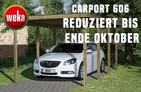 Weka Carport Aktion