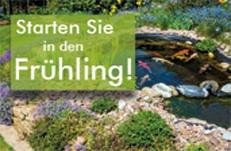 Teichpflege und Teichbau im Frühling