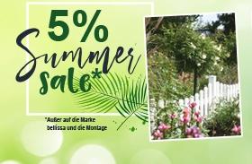 5% Summer-Sale