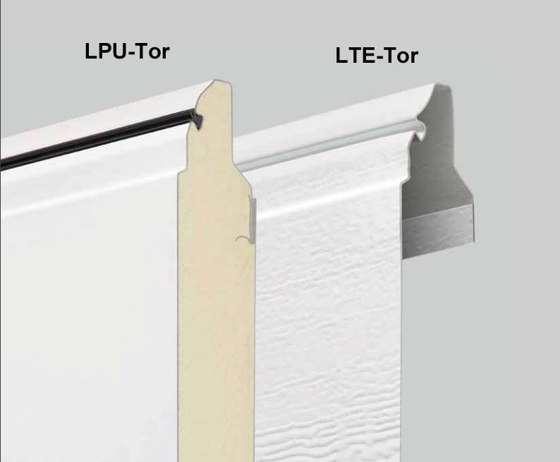 Hörmann Stahl-Sektionaltore LPU und LTE