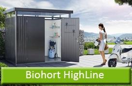 Biohort Highline mit Doppeltür